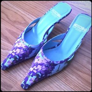 👠 Moschino Cheap & Chic Kitten Heels 👠 Sz 38.5